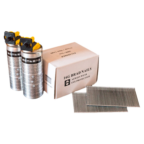 SECOND FIX NAIL & GAS PACKS