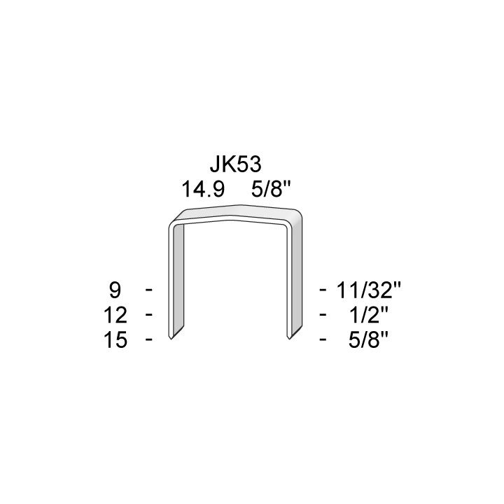 JK-53 SERIES STAPLES