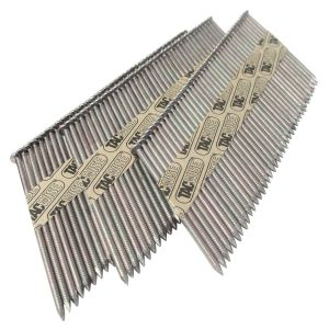 3.1 x 90mm Extra Galvanised Ring 34° Paper Collated Strip Nails (2,200)